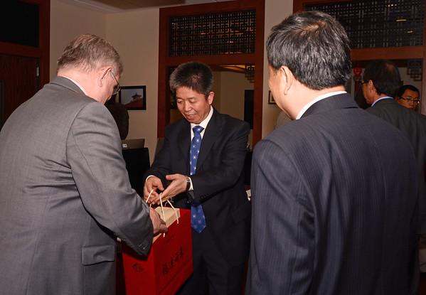 092314 AK Nankai University, Binhai College Delegation visit